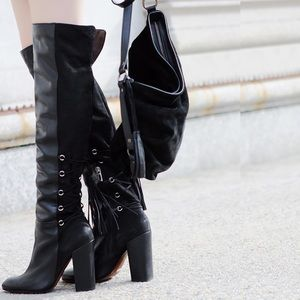 SCHUTZ Aiyana Over the knee boots